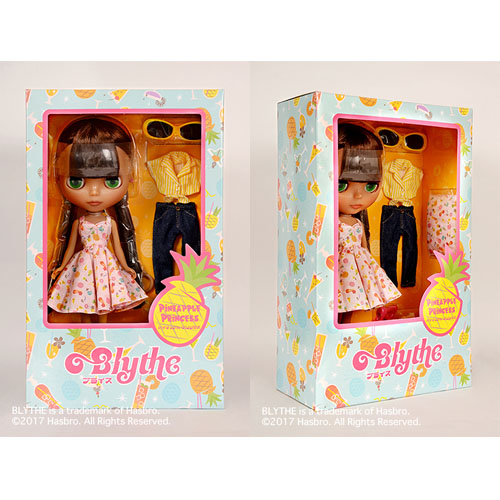 Blythe ネオブライス SHOP限定ドール 「パイナップル・プリンセス」 2017年7月14日発売!