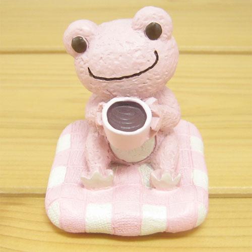 かえるのピクルス シュシュピクルス(chou chou pickles) クラフトシリーズ レジンドール コーヒー(ピンク)