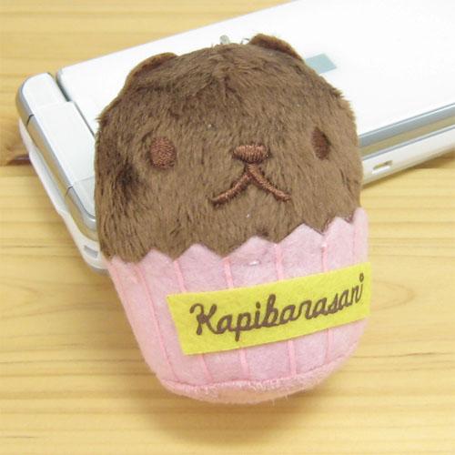 カピバラさん スイーツマスコットクリーナー カップケーキ 【カピバラさん グッズ】