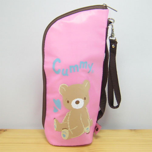 Cummy(クーミィ)シリーズ ペットボトルケース(ピンク)