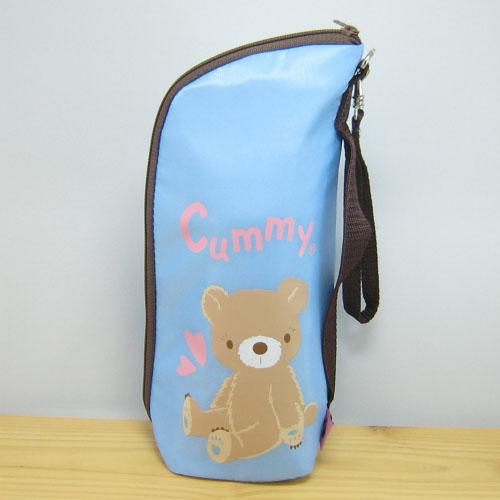 Cummy(クーミィ)シリーズ ペットボトルケース(ブルー)