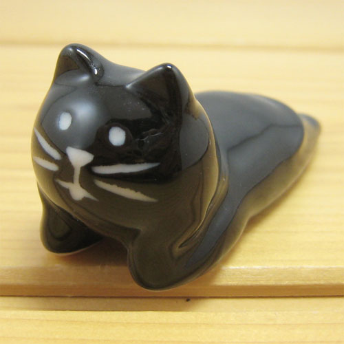 DECOLE(デコレ) concombre 頬づえ箸置き ねこ(CAT)